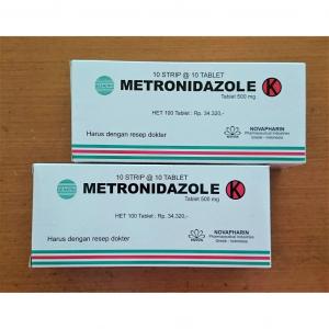 metronidazole generik